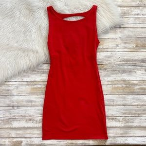 Kookai Red Bodycon Dress